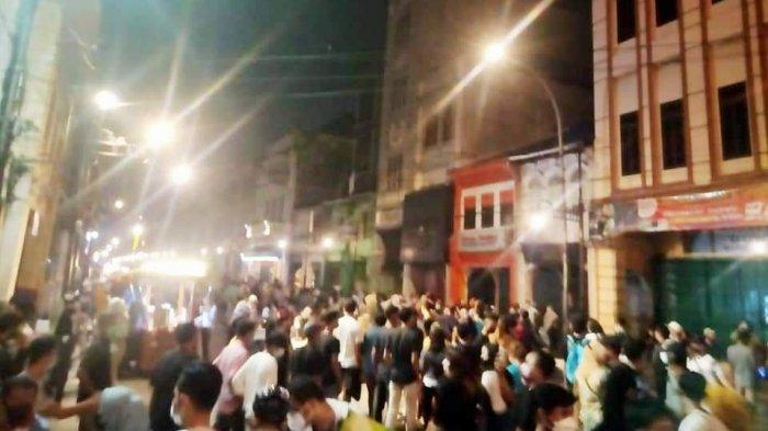 Kondisi Kesawan City Walk Makin Gila-gilaan, Bobby Nasution Sidak Tapi Kerumunan Masih Membludak