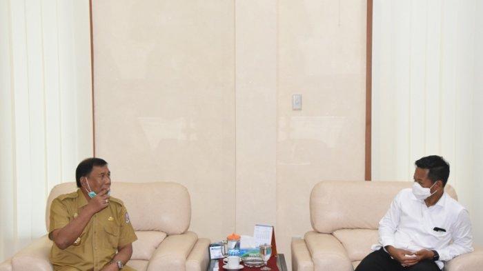 Bertemu Bupati Deliserdang, Rektor USU Minta Jalan Dekat Kampus USU Kwala Bekala Diperbaiki