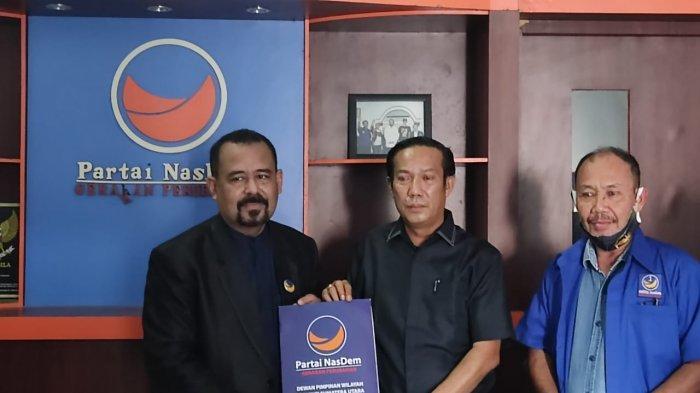 DPD NasDem Binjai Tunjuk Jonatan Tarigan Sebagai Ketua Garda Pemuda