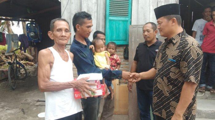 Dua Balita Penderita Gizi Buruk di Deliserdang Dapat Bantuan Pujakesuma