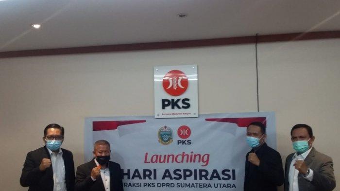 Tampung Aspirasi Masyarakat, Fraksi PKS DPRD Sumut Launching Program Hari Aspirasi