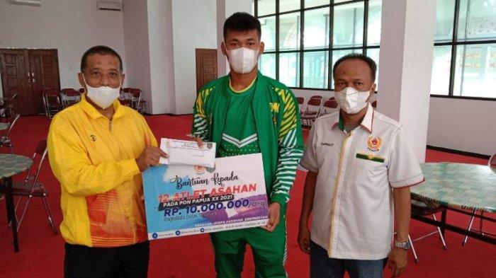 KONI Asahan Beri Uang Saku untuk Atlet Peserta PON Papua, Bonus Menanti Peraih Medali