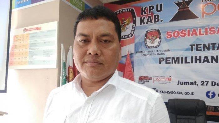 Ketua KPUD Karo Sebut Penetapan Bupati Terpilih Masih Menunggu Keputusan MK