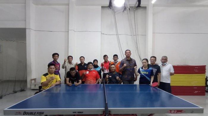 Ketua NPC Sumut Apresiasi Persiapan Tim Tenis Meja Sumut Jelang Peparnas Papua