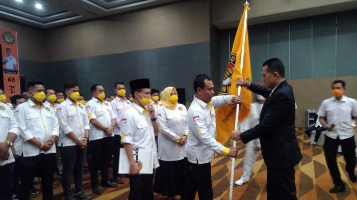 Musa Rajekshah Kukuhkan Hamdani Syahputra Pimpin Taekwondo Medan