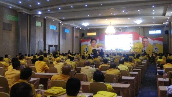 Ketua Umum Golkar Target Dua Juta Kader Untuk Menangkan Partai Golkar di Pilkada 2024