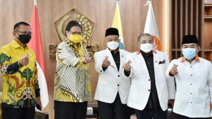 Airlangga: PKS Dukung Kebijakan Pemerintah Tangani Pandemi Covid-19