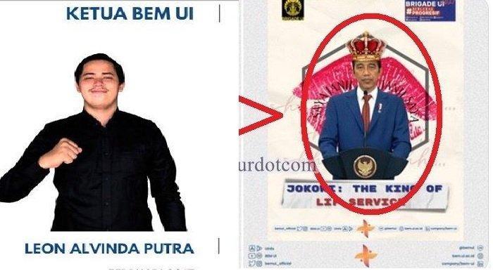 BEM UI Tolak Permintaan Rektorat Hapus Postingan yang Menyebut Jokowi sebagai 'king of lip service'