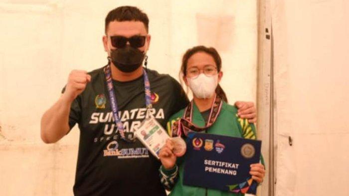 Sumut Tambah Koleksi Medali, Atlet Sepatu Roda Khansa Nayra Qatrinada Raih Medali Perak
