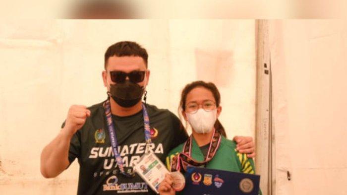 Roller Skater Khansa Nayra Tambah Pundi-Pundi Medali Sumut, Raih Medali Perak di PON Papua