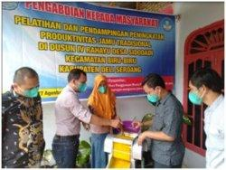 Dosen Teknik Mesin STTSH Laksanakan Pengabdian Masyarakat di Kecamatan Biru Biru Deli Serdang