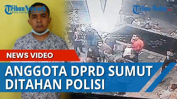 Oknum DPRD Sumut dan 3 Pria Aniaya Anggota Brimob Kini Diproses di Polrestabes Medan