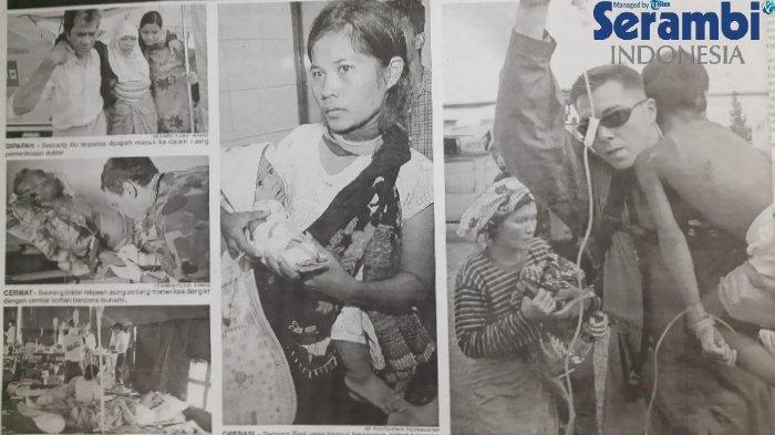 Cerita Sa'dah, Ibu Bermata Sembab Cari Anak Gadisnya yang Hilang saat Tsunami Aceh 2004 Silam