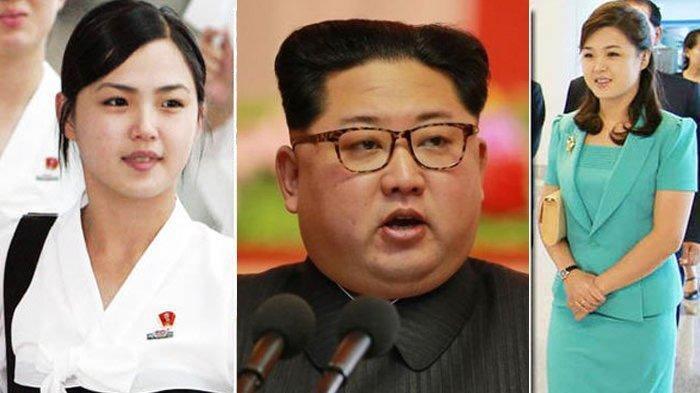 Kim Jong Un dan istrinya
