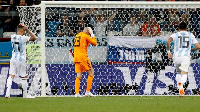 FULL TIME: ARGENTINA vs KROASIA, Lionel Messi dkk Menangisi Kekalahan