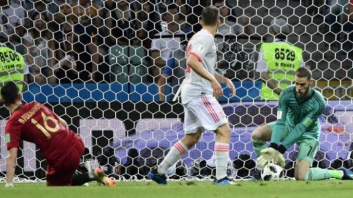 Pelatih Spanyol Tentukan Nasib David De Gea, Tim Matador Hadapi Rusia di Babak 16 Besar