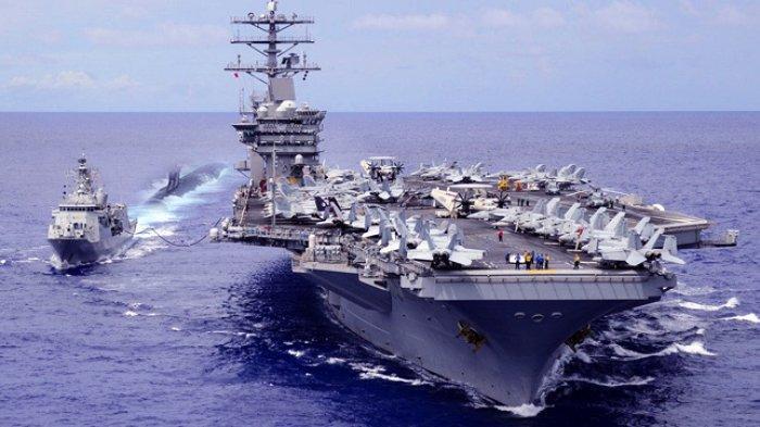 Kapal Selam Misterius Ditangkap AS, Hingga Kapal Selam China Mendadak Muncul di Dekat Kapal Induknya