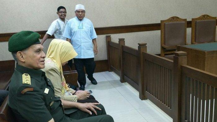 Saat Sidang, Kivlan Zen Tegaskan Bertanggungjawab Tuding Wiranto Korupsi Uang PAM Swakarsa Rp 10 M