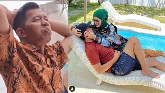 Saat Kiwil Dikabarkan Menghilang Tak Nafkahi Anaknya, Meggy Pamer Keloni Suami di Pinggir Kolam