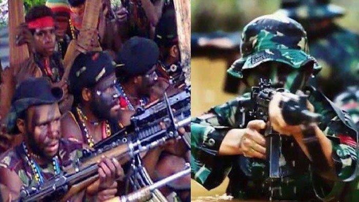 KKB PAPUA TERKINI - Pangdam Ungkap Anggota TNI Pukul Mundur KKB Egianus Kogoya Baku Tembak 20 Menit