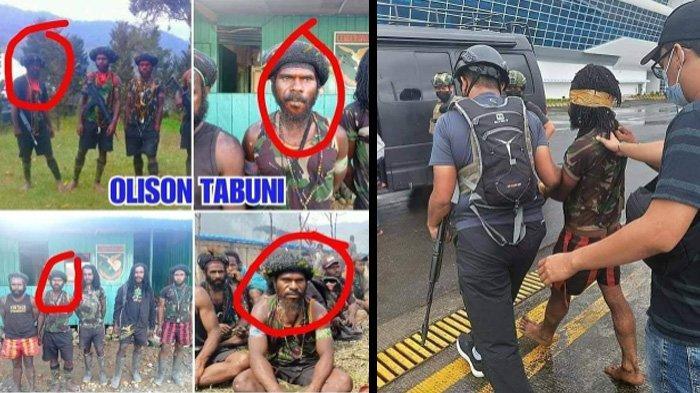 KKB Papua Ditangkap Aparat TNI-Polri