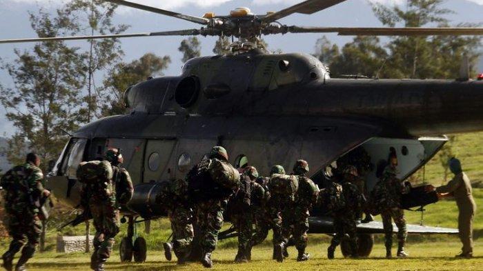 DINI HARI MENCEKAM, Pertempuran Sengit TNI-Polri vs KKB di Papua, Dua Teroris Tewas