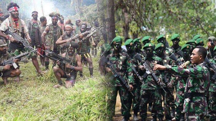 TNI/Polri Pukul Mundur KKB dari 4 Kampung di Tembagapura, Letkol Dax Sianturi Beber Rahasia KKB