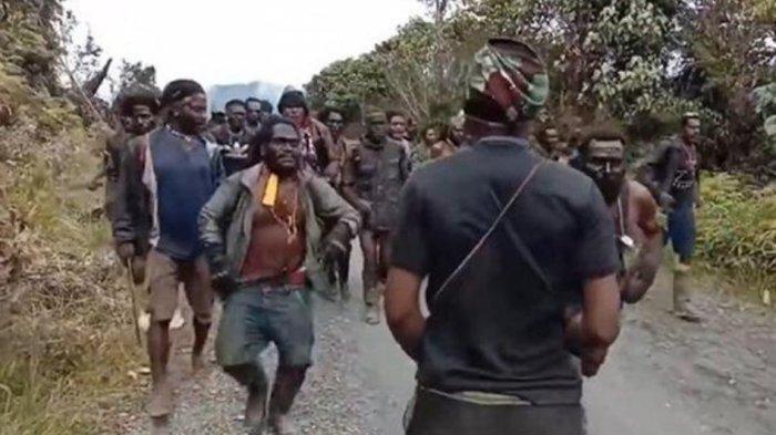 Anggota KKB di Papua