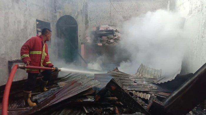 Klenteng di Kisaran Timur Terbakar saat Pemilik Pergi ke Luar Kota