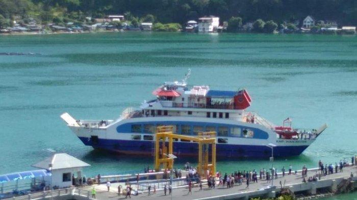 Habiskan Anggaran Rp 32 Miliar, Menko Maritim Resmikan KMP KM Ihan Batak di Samosir