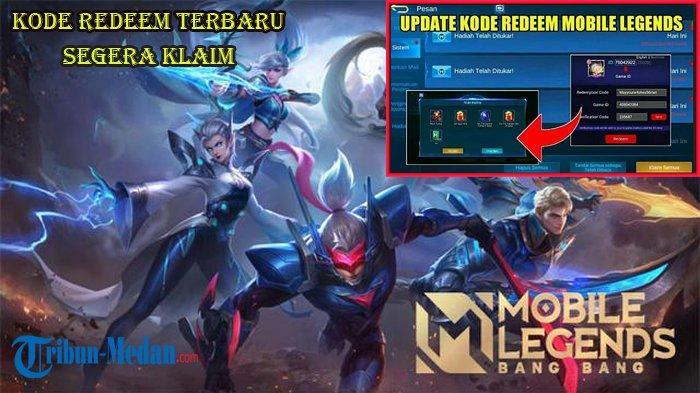 Kode Redeem Mobile Legends TerbaruRabu 13 Oktober 2021, Klaim Skin Epic dan Diamond Gratis