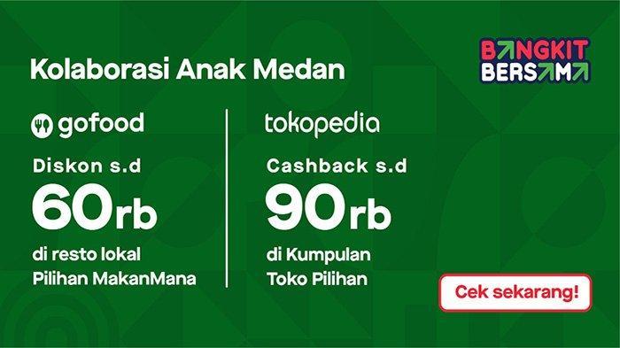 #KolaborasiAnakMedan Wujud Nyata Gojek-Tokopedia Dukung Digitalisasi UMKM di Medan