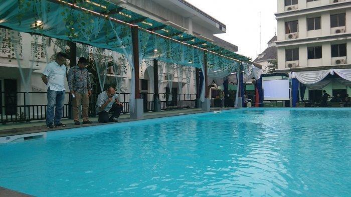 Kolam Renang Air Asin Pertama di Kota Medan Ada di Hotel Grand Inna Medan