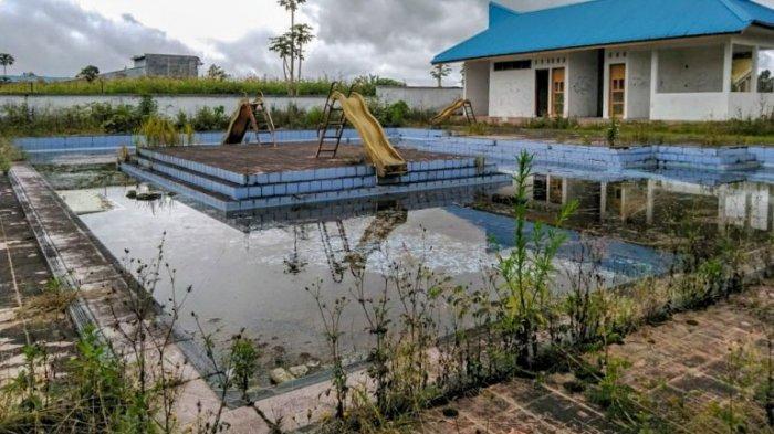 Dibangun dari Anggaran Pusat, Kolam Renang Stadion Sidikalang Mubazir dan Memprihatinkan