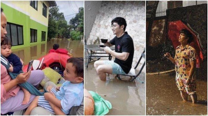 Artis-artis yang Rasakan Ketiban Banjir Jakarta, Mulai Irish Bella hingga Atta Halilintar