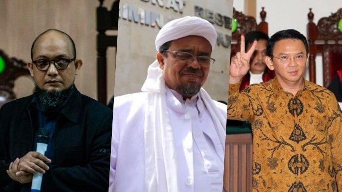 Rizieq Shihab Tak Terima Dituntut 6 Tahun, Bandingkan dengan Kasus Ahok dan Novel Baswedan