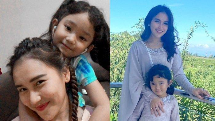 Ayu Ting Ting dan putrinya, Bilqis Khumairah