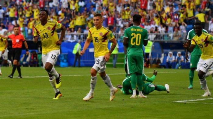 Kolombia Dulang Tripoin atas Senegal, Tak Ada Lagi Wakil Afrika yang Tersisa