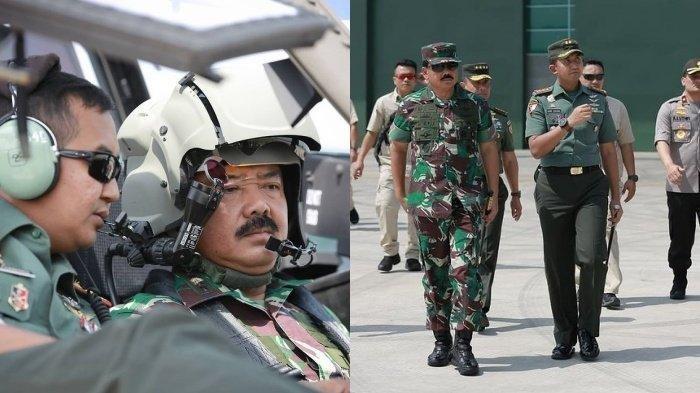 Kolonel Cpn Cahyo Permono saat mendampingi Panglima TNI Marsekal Hadi Tjahjanto 2018 lalu.