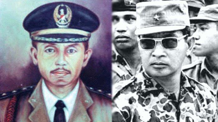Kolonel Latief dan Mayjen Soeharto