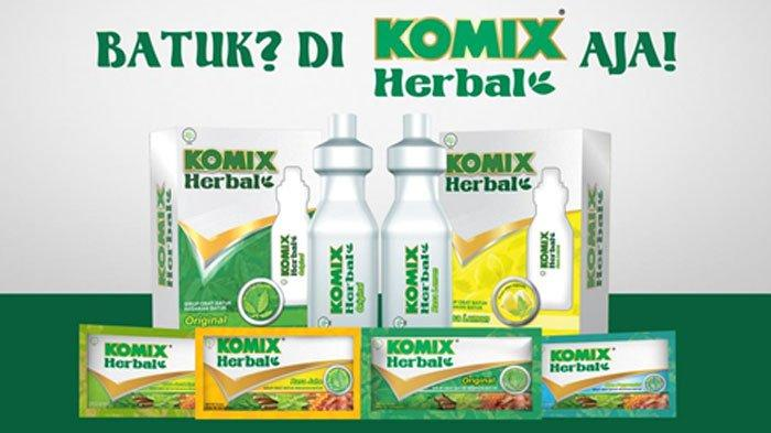 Batuk? di Komix Herbal aja!