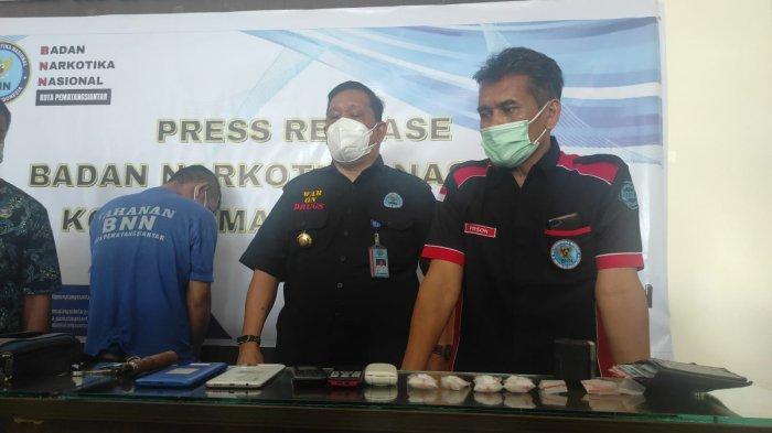 BNN Siantar Tangkap Residivis, Amankan Narkotika Jenis Sabu Sebanyak 22 Gram