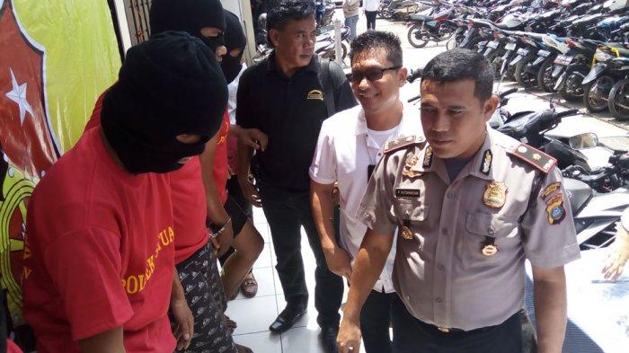 Empat Pelaku Curanmor Terpincang-pincang Ditembak Polisi, Begini Kronologi Penangkapannya