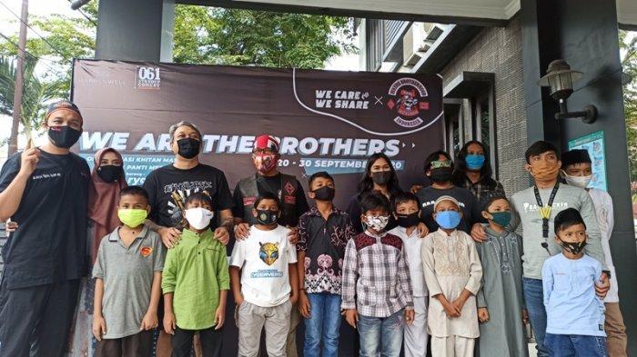 Gabungan Komunitas Motor dan Seni di Medan Gelar Sunat Massal Gratis untuk Anak Yatim dan Dhuafa