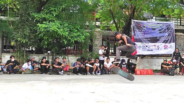 Peringati Go Skateboarding Day, Komunitas Skateboard Keliling Kota Medan