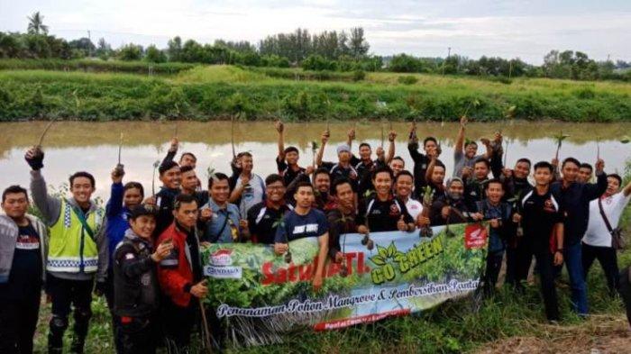 Tanam Mangrove, Komunitas Honda Lakukan Aksi Peduli Lingkungan