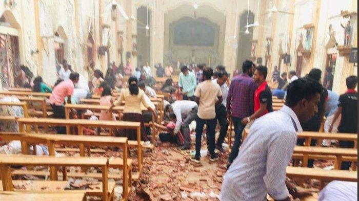 Tiga Gereja Kena Bom Saat Rayakan Paskah, Sedikitnya 50 Orang Tewas, 250 Orang Terluka
