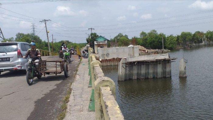 Formasi Menagih Janji Wali Kota Bobby Nasution Lihat Jembatan Sicanang yang Darurat, Ini Bahayanya