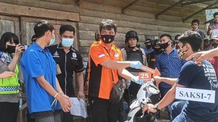 BREAKING NEWS Total 25 Adegan Pembunuhan Guru SD di Toba, 24 Tusukan Dihunjamkan Pelaku