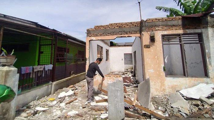 TERNYATA Pelaku Penggasak Rumah di Helvetia hingga Tinggal Puing Pemuda Setempat